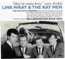 WRAY, Link & The Ray Men - They're Outta Here - RCCD 3032